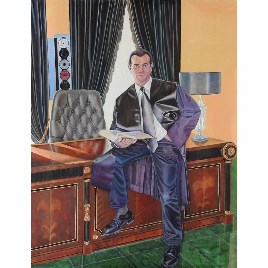 ÓSCAR, EL ABOGADOÓleo sobre lienzo 146 x 114 cm