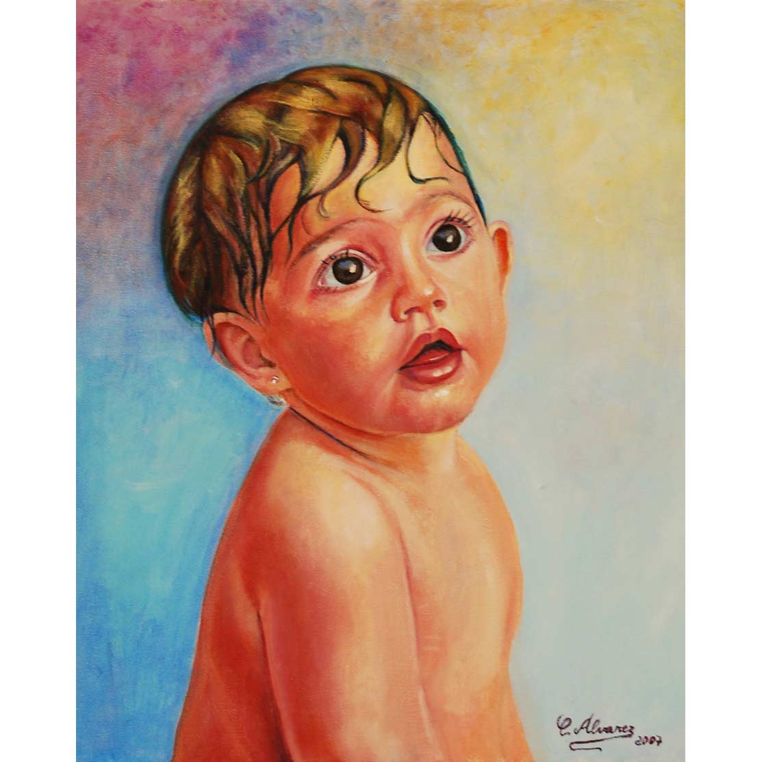DAFNE Óleo sobre lienzo 46 x 38 cm