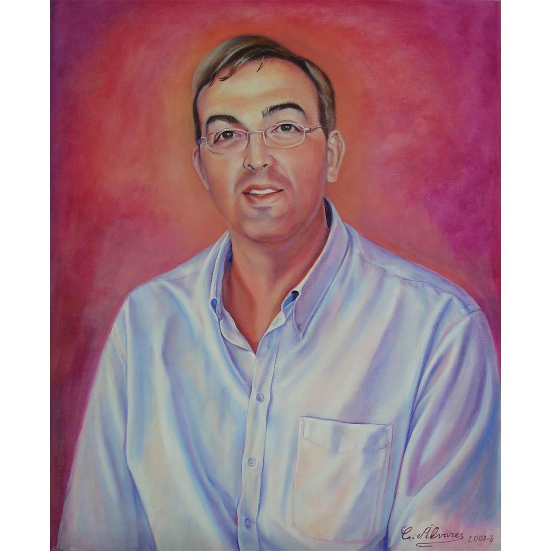 DAVID VALADEZÓleo sobre lienzo 65 x 54 cm