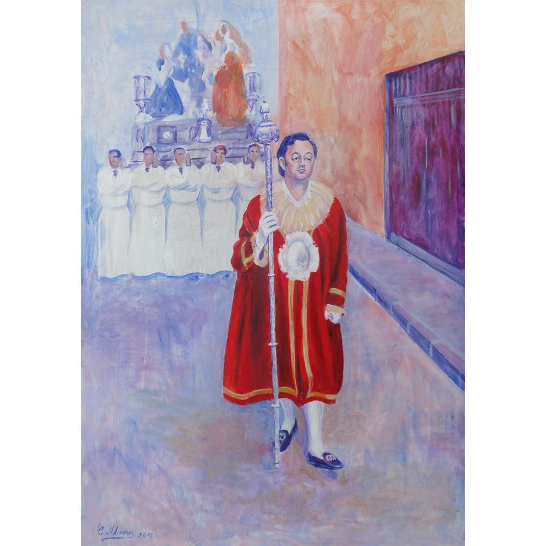 THE PERTIGUERO Acrylic on panel 60 x 40 cm