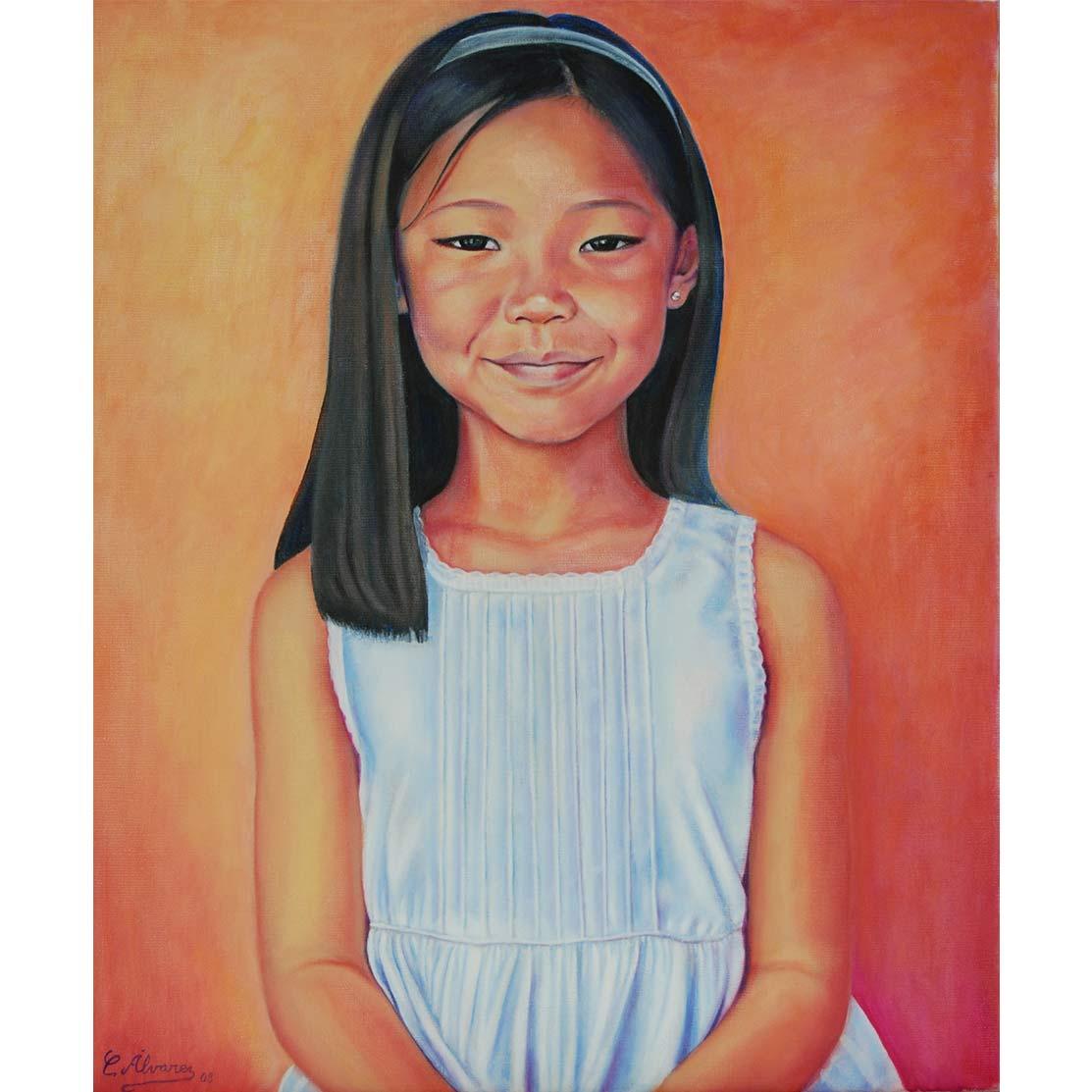 RUI Óleo sobre lienzo 65 x 54 cm