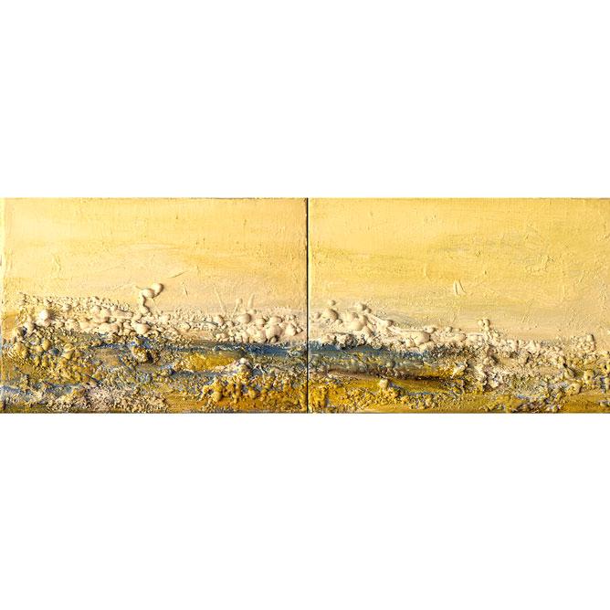 ALBA Ténica mixta sobre lienzo 19 x 54 cm