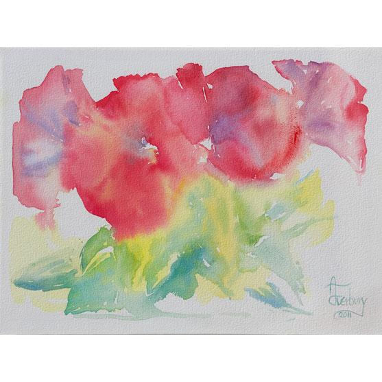 ARMONÍA-ZEN Acuarela sobre papel 30 x 40 cm