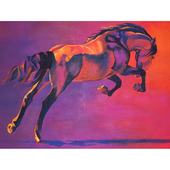 EL BRÍO Acrílico sobre lienzo 81 x 100 cm