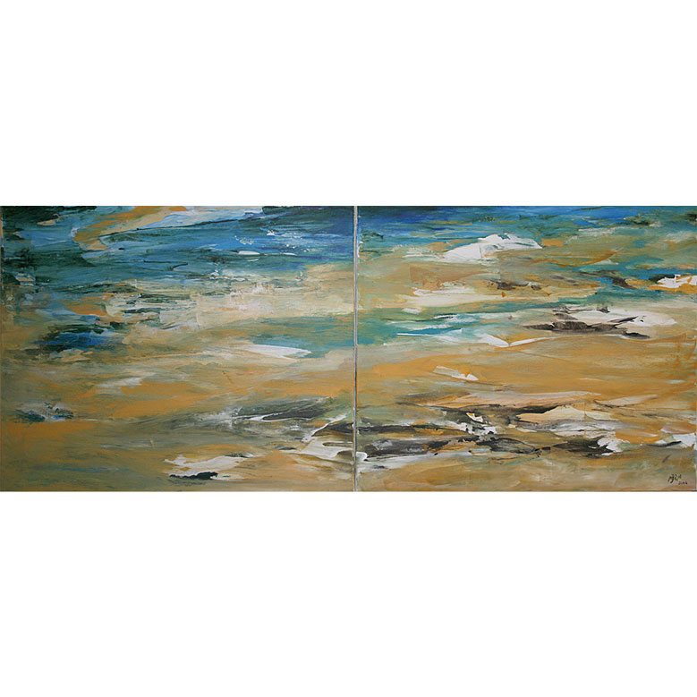 ESTELA Acrílico sobre lienzo 50 x 122 cm