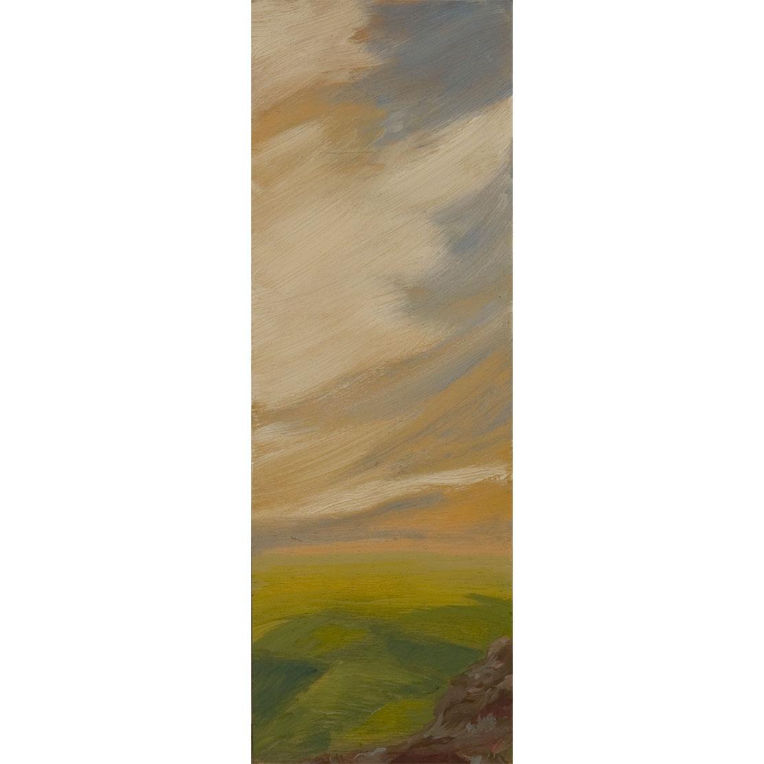 VALLE Acrílico sobre tabla 28 x 18,5 cm