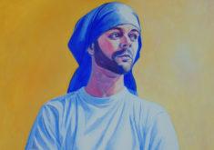 COSTALERO-DEL-AMOR-CONCHI-ALVAREZ-ARTIST-2018--ACRYLIC-ON-PAPER-27,5¨x-19,7¨